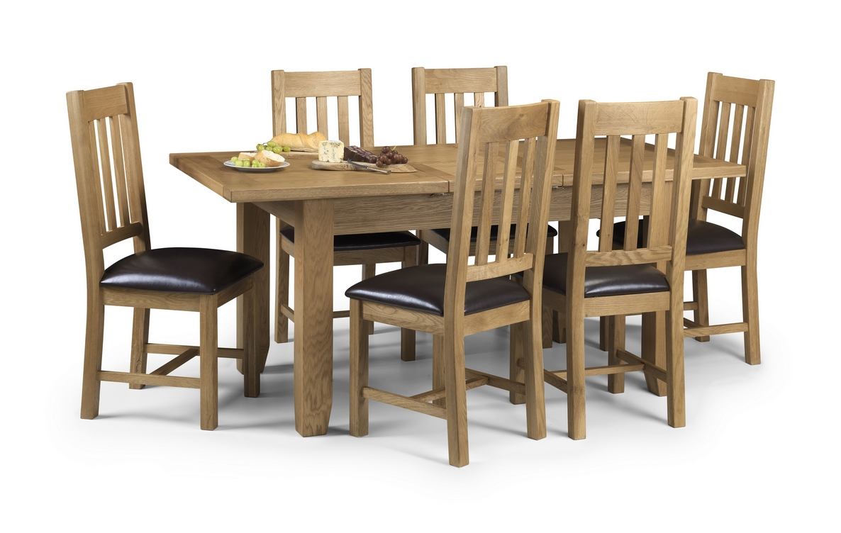 Astoria Extending Oak Dining Table and Chairs