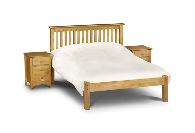 Barcelona Low Foot End Pine Wooden Bed Frame